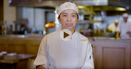 Meet Christine, Pastry Cook at Pelican Hill