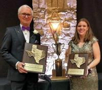 Faculty member, Kevin Gureckis, D.M.D., named Texas Dentist of the Year and Susan Putthoff, D.D.S., Class of 2010 was named Texas New Dentist of the Year by the Texas Academy of General Dentists.